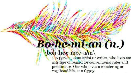 Bohemian art bohemian art tumblr bohemian cool no for Define boho fashion