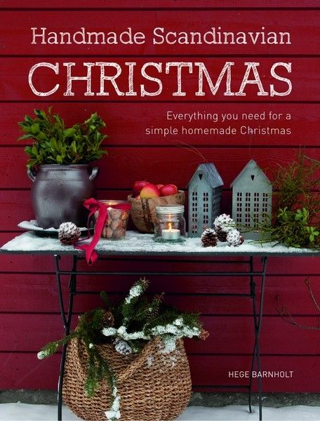 Handmade Scandinavian Christmas - Sewing Books - Books - Sewing