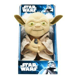OMG Talking Yoda!  He's so cute =)  Early Father's Day present