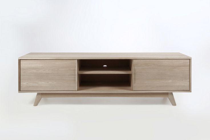 1000 ideas about meuble tv bois massif on pinterest - Meubles tv bois massif ...