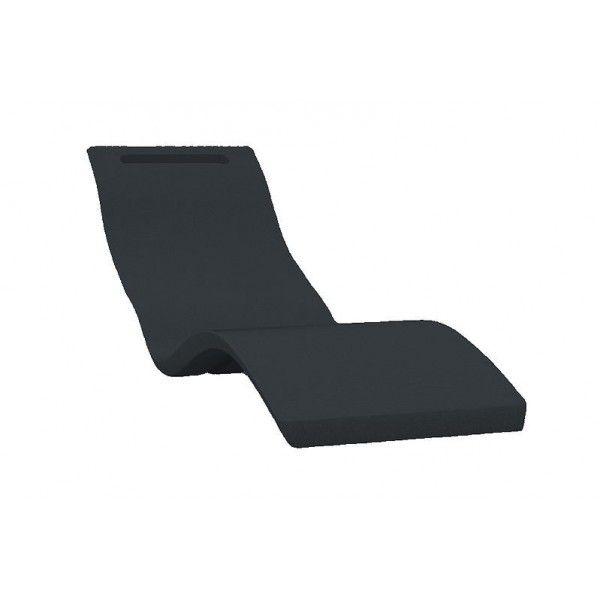 Serendipity Ligstoel Grijs (Ground version) - Zwembad Ligstoelen - Accessoires