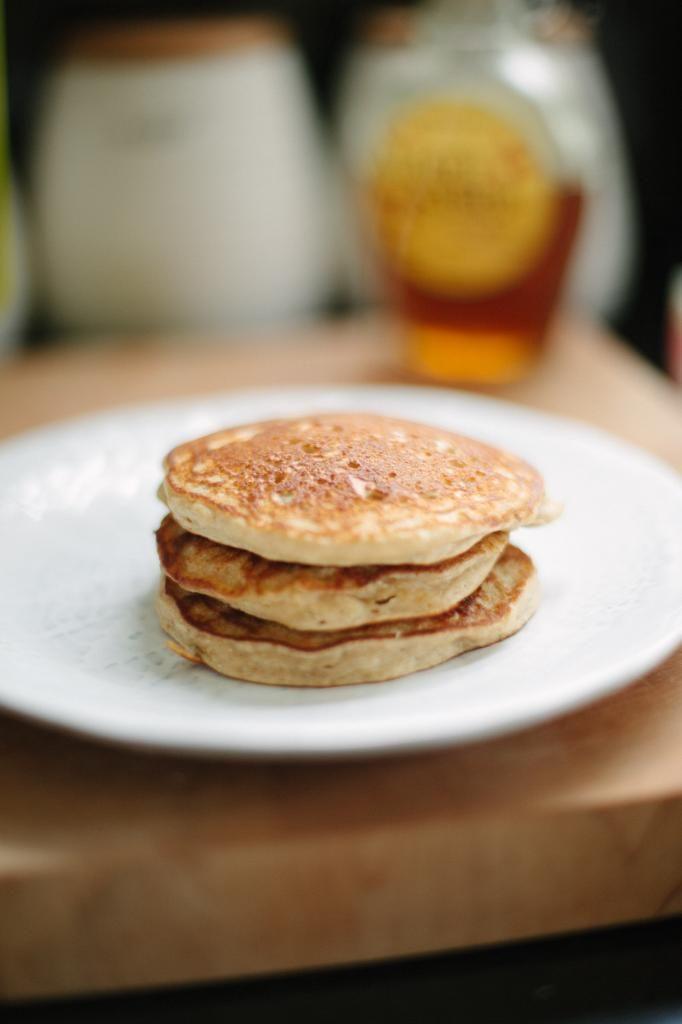 Honey & Brie: Guilt Free Fluffy Gluten Free Pancakes