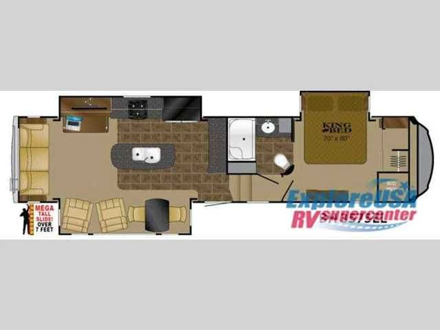 2016 New Heartland Bighorn 3575EL Fifth Wheel in Texas TX.Recreational Vehicle, rv, 2016 Heartland Bighorn 3575EL, This Heartland Bighorn luxury fifth wheel model 3575EL will have you enjoying your every adventure! This model features a rear living layout, Mega tall slide outs, a convenient kitchen island, and a king size bed in the master, plus more!Step in and see how comfortable your next camping trip would be. There is a dining tablefor two within a slide outthat also containstwo…