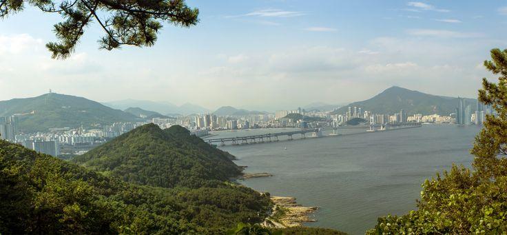 Gwangalli Bridge Panorama  #Busan #Panoramas #SouthKorea
