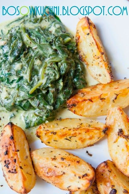 Garlic Sauteed Spinach/ Szpinak z czosnkiem  Boso w Kuchni