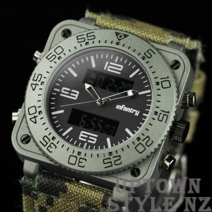 Infantry Military Style Watch