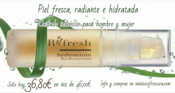 Sin conservantes, perfumes ni componentes minerales. Ecológico y vegano. www.ecofrescura.com