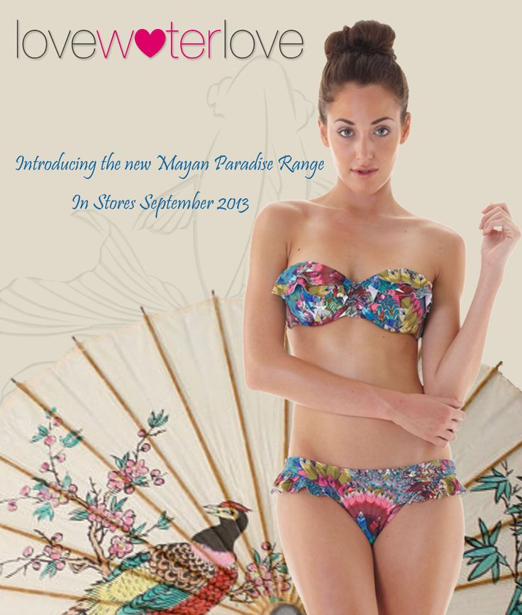 Mayan Paradise...in stores now! www.lovewaterlove.com/stockists