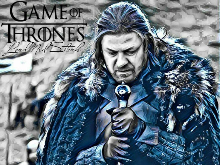 """Lord Ned Stark of Winterfall """"Game of Thrones"""""""