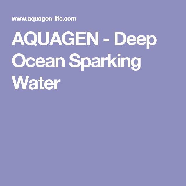 AQUAGEN - Deep Ocean Sparking Water