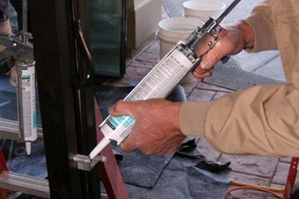 This is an example of a caulking gun.