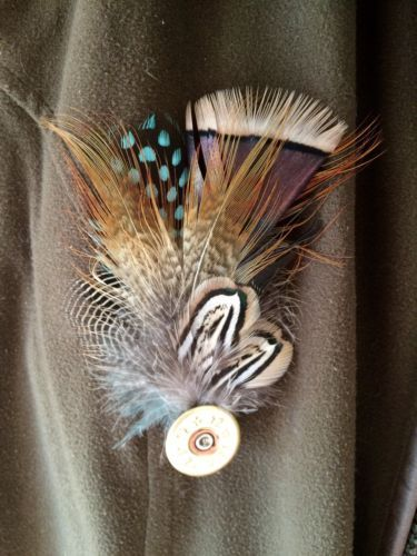 Feather-Shooting-Pin-Cartridge-brooch-Hunting-Trilby-Blazer-Hat-Accessory