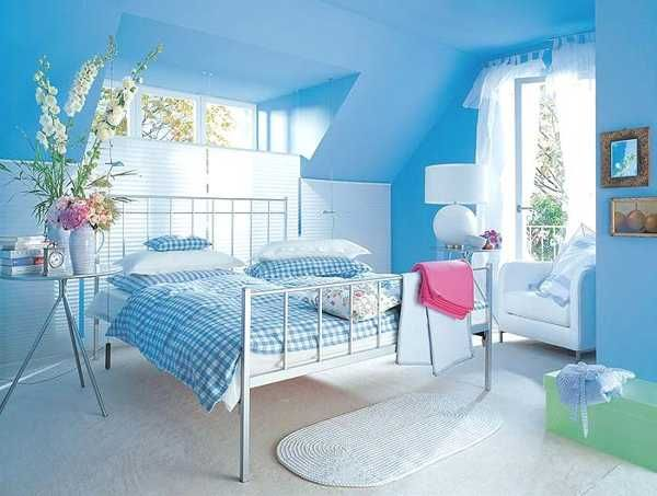 light blue bedroom colors 22 calming bedroom decorating ideas - Bedroom Colors Blue