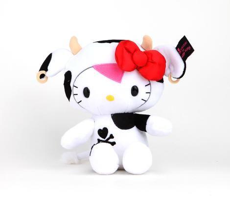 """tokidoki x Hello Kitty 8"""" Plush: Mozzarella A hello Kitty just for you My lovely Vinnie."""