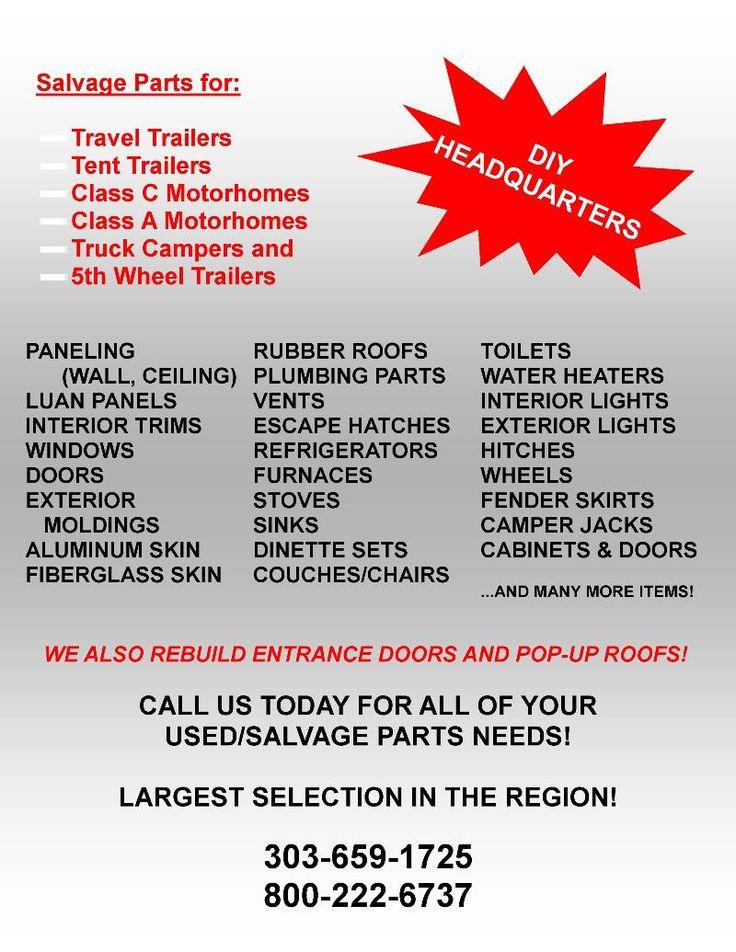 Henderson, Denver, Aurora, Colorado, Adventurer Eagle Cap, Northstar, Truck Camper, Dealer, Used, Service, Parts, Financing, Salvage, Accessories