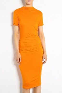 Dusa Jersey Drape Dress by By Malene Birger