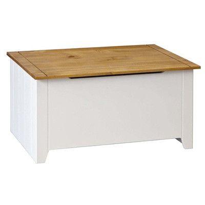 Home & Haus Tehama Wooden Blanket Box