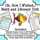 This is a perfect Math & Literacy Unit for getting to know your students and their abilities at the beginning of the year.  It is a short story...