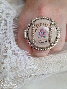 Wearing Memories Champagne Jewellery Cocktail Ring