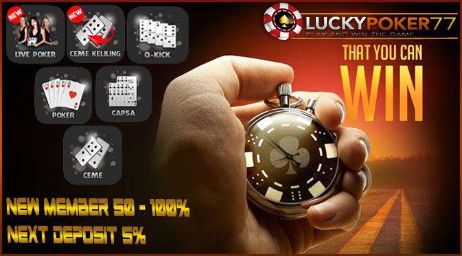 Situs Judi Poker | Daftar Judi Domino Online Terpercaya