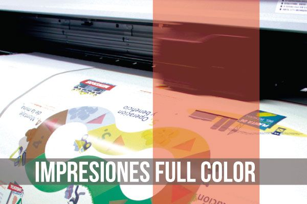 Impresiones full color