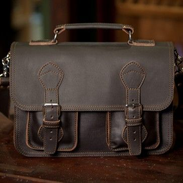 Leather Business Briefcase Bag – Rugged, Tough, Laptop