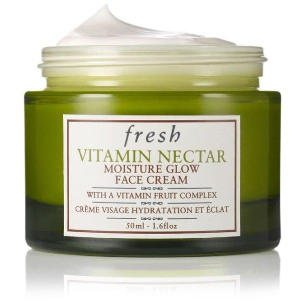 Women's Fresh Vitamin Nectar Moisture Glow Face Cream ($42) ❤ liked on Polyvore featuring beauty products, skincare, face care, face moisturizers, no color and face moisturizer