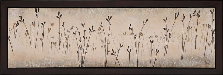 """""""Fields"""" by Manuela Jarry 72 X 24"""""""