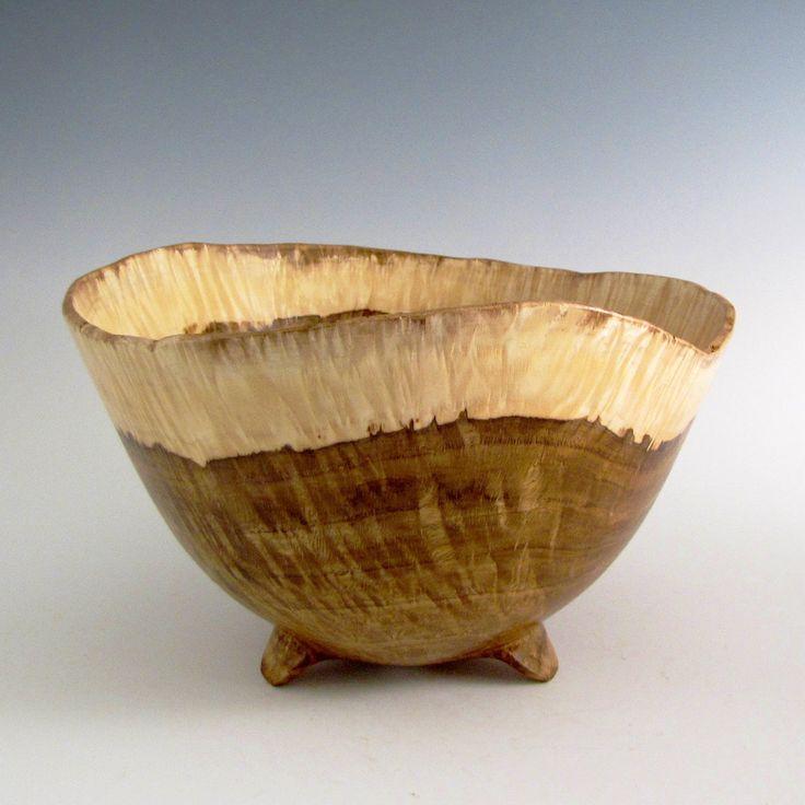 Wood Bowl - Chestnut Oak Burl Wood Turned Bowl - Housewarming Gift - Wedding Gift- Hand Made Wood Bowl - Wooden Bowl - Wood Turning Bowl by JLWoodTurning on Etsy