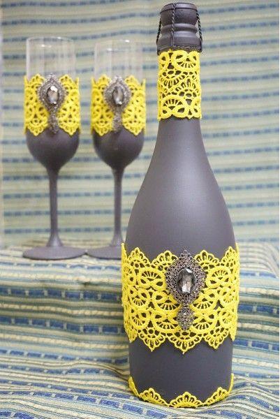 """Свадебное шампанское """"Влечение Востоком"""""""