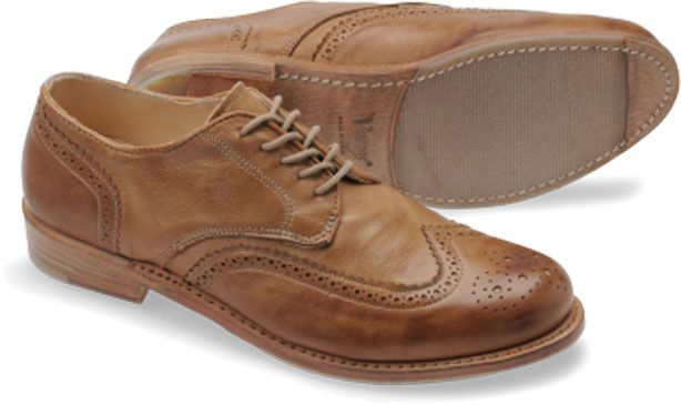 Walk in these, without socks if you dare.: Sock, Brogue Shoe