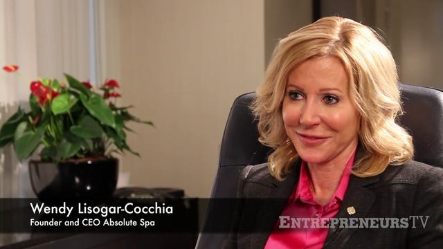 Our fabulous boss lady! Wendy Lisogar-Cocchia - Founder and CEO of Absolute Spa shares her mentoring advice from Peter Legge.   More  Wendy at www.EntrepreneursTV.com