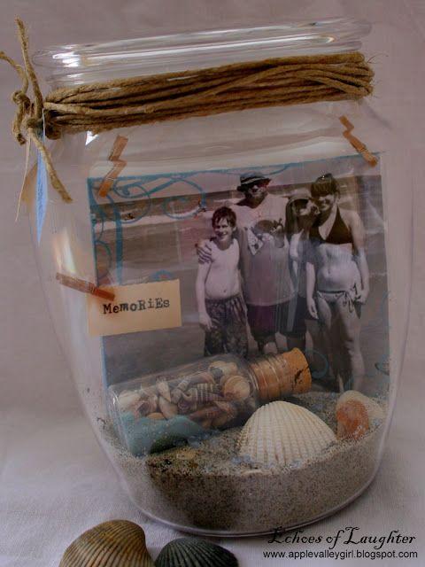 Vacation Memory Jars