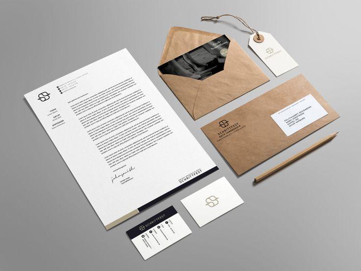 Tanzschule Schrittfest / Leipzig Corporate identity branding graphic design business card letter envelope logo minimal pattern illustration label craft paper