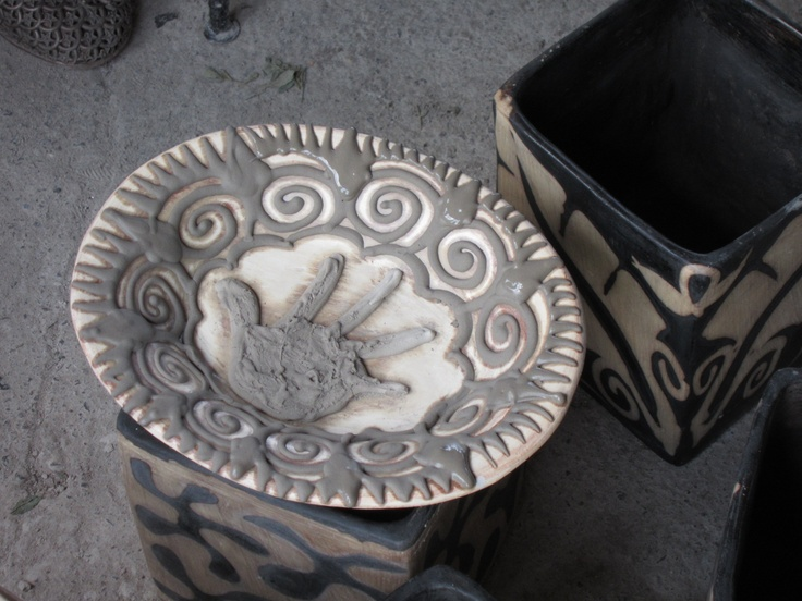 Working On Design Lenca Pottery Pottery Honduras