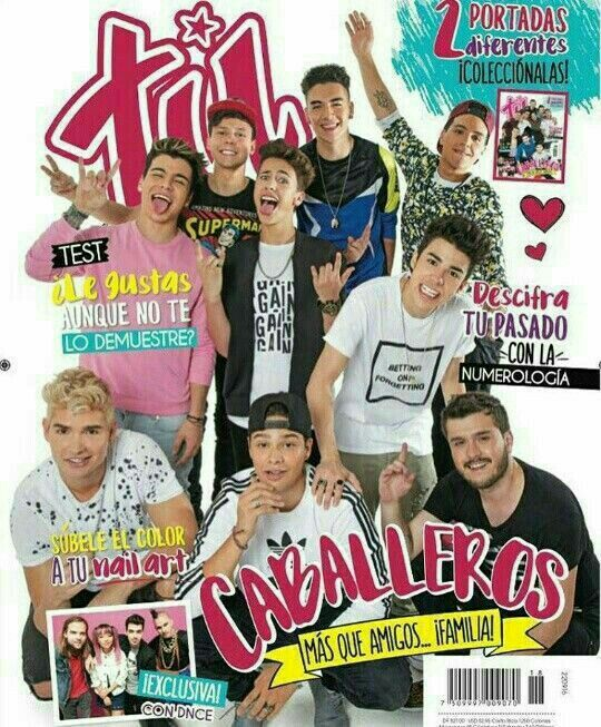 Revista TÚ México #Caballeros ❤❤❤