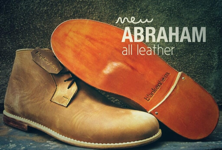 #abraham leather sole