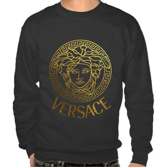 Versace men Sweatshirt hoodie tshirt shirt size S,3XL Screen Printing by Melissa2012us