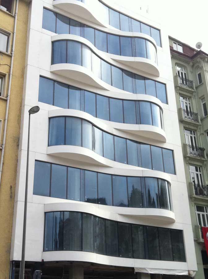 29 best corian facade images on pinterest facades for Exterior building materials