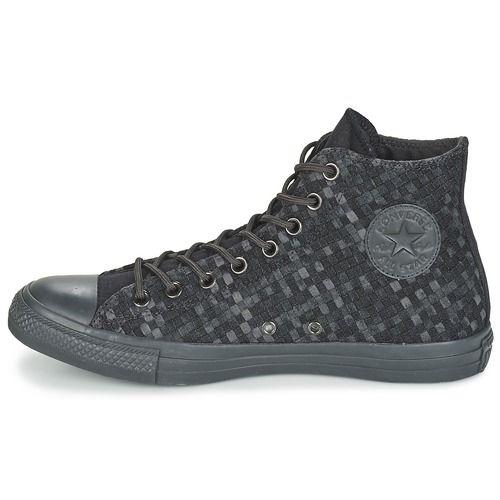 Basket montante Converse CHUCK TAYLOR ALL STAR DENIM WOVEN HI Noir / Gris 350x350