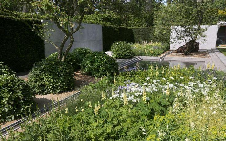 Chelsea Flower Show 2014 | Laurent Perrier garden designed by Luciano Giubbilei