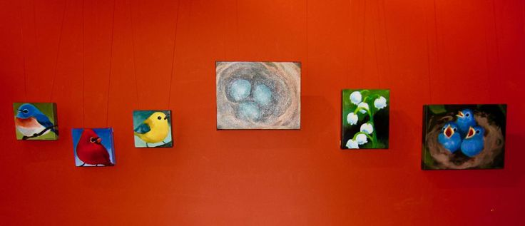Make your way to the Luna Gallery inside the Yellow Moon Cafe and anthill gallery & vintage curiosities, both in Cobden, IL, for a wonderfulSpring Oil Paintings exhibit by Molly Cranch which a…