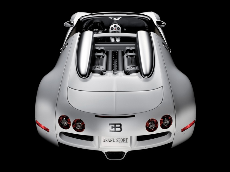 Attractive Bugatti Veyron Grand Sport Rear View Via Sport Cars Great Pictures