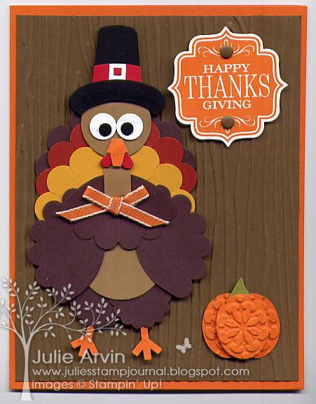 Punched Turkey case by Julie Bug - Cards and Paper Crafts at Splitcoaststampers