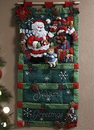 Plaidonline.com #ChristmasCraftWishList | Felt Projects / Christmas ...