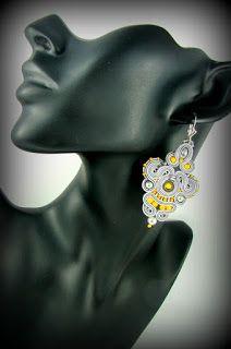 soutache earrings montownia monity