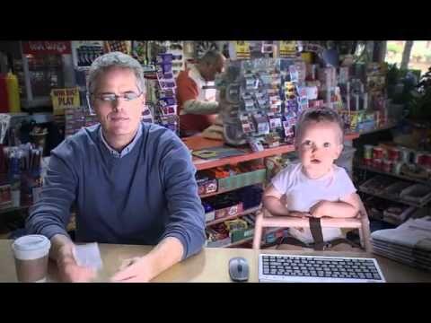 E TRADE Baby -  The Lottery  I love this commercial!   :). -Lee Ann (Crochetgottalove.blogspot.com)