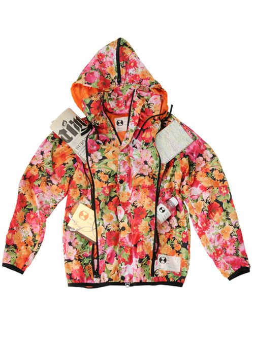 Final Home Double Zip Floral Jacket