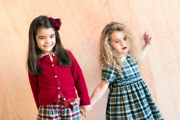 Tartan and Flannel..Malvi   & Co  for  Bookmoda Kids- Fall Winter 2014-15 Collection www.bookmoda.com