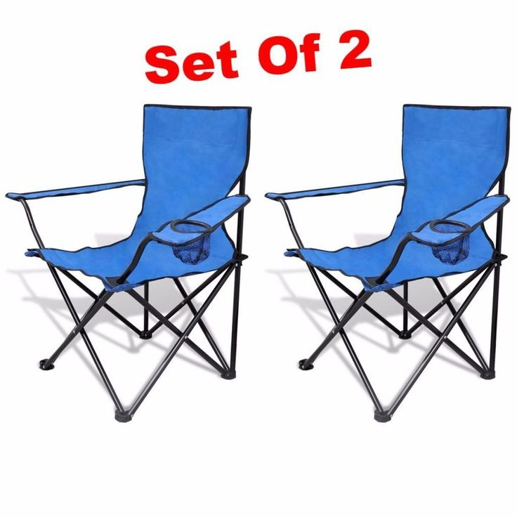 It features a built-in cup holder in the armrest to keep drinks close at hand and also carry bags with shoulder straps. With a sturdy structure this Fishing Folding Chair can support weight up to 100 kg. | eBay!